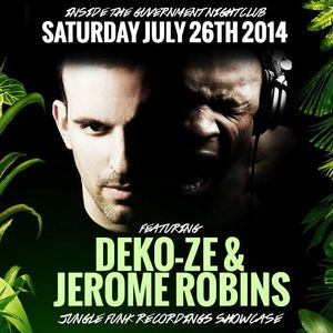 Jungle Funk Recordings Live From The Guvernment Main Room (26-07-2014)