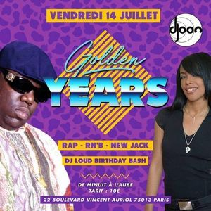 Golden Years 14 juillet