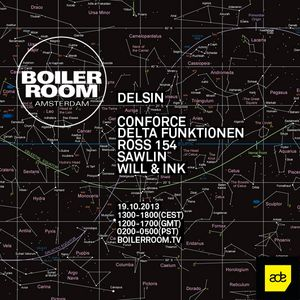 Conforce @ Boiler Room Amsterdam (19-10-2013)