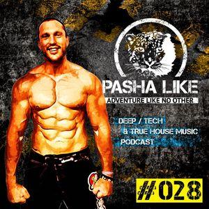 #028 Deep, Tech & True House Music Podcast by Pasha Like