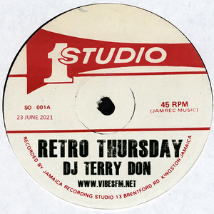 Retro Thursdays - Presented By Terry Don on www.vibesfm.net - 23 June 2021
