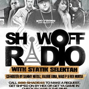 Show Off Mix Sirius Radio - Presto One