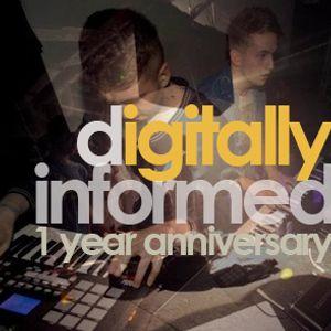 Digitally Informed ID 06 - 1 Year Anniversary Mix (Aug '12)