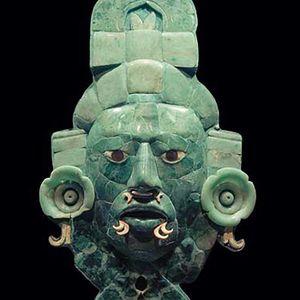 Sala. Máscara de Calakmul