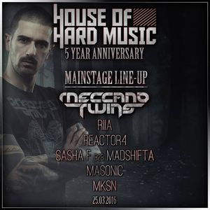 Masonic @ House of Hard Music 5 Year Anniversary