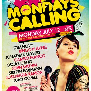 Jose Maria Ramon Mondays Calling - Space Ibiza - Julio 10