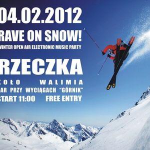 bewu vs. PressTwo  - Rave on Snow! @ Rzeczka [04.02.2012]