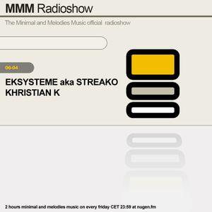 Khristian K - MMM Radioshow 07 // showcase pt 1