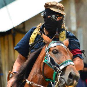 zapatista / insurgente subcomandante Marcos    ...about Greece, January 2009