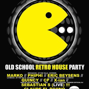 Phi-Phi at Oldschool Retro House Party at Fuse (Brussel-Belgium) - 15 November 2013