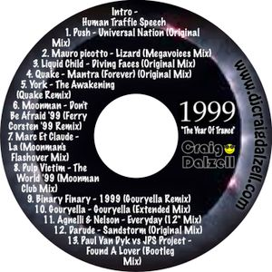 '1999' The Year Of Trance   Mixed By Craig Dalzell (Remastered)