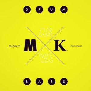 MASKVA - DRUM N BASS STATION Podcast #003 - Mainstream ( 27.06.2014)
