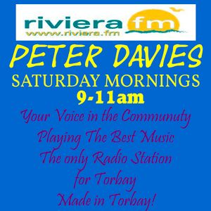 The Best Music & Chat for a Saturday Morning. Join Peter Davies. Your Voice in the Community