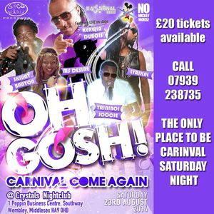 DJ CJay - Oh Gosh 6 Special Show 17.08.14