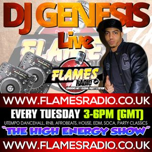 THE HIGH ENERGY SHOW WITH DJ GENESIS - 4.8.2015