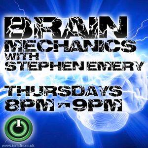 Brain Mechanics with Stephen Emery on IO Radio 280416
