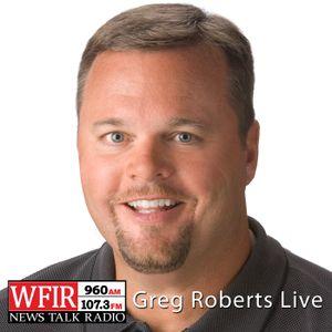 Greg Roberts Live Wednesday April 27, 2016