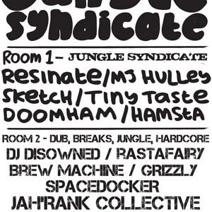 DISOWNED@JUNGLE SYNDICATE (The Croft - Bristol) 26th May 2011