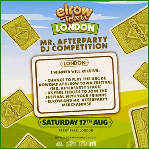 Elrow presents Mr Afterparty DJ Contest Col Lawton