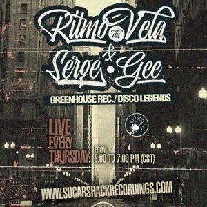 Ritmo Du Vela & Serge Gee live @ Sugar Shack Radio March/24/2016