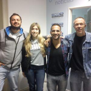 VELEZ RADIO Con Carlos Martino,Diego Guitian,Gabriel Martinez Y Zoe Bonillo 3-7-2015