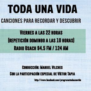 Programa Toda Una Vida. Capitulo N° 125. Emisión Viernes 21 de Diciembre de 2018. Santiago. Chile