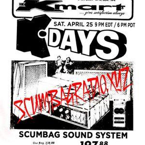 Scumbag Sound System Live - 25 April 2020: Scumbag Bastard