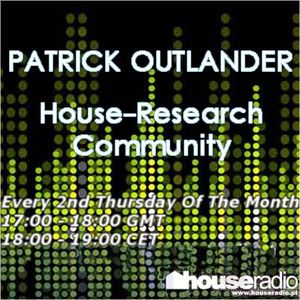 Patrick Outlander - House Research Community 012 (01-10-2013) houseradio.pl