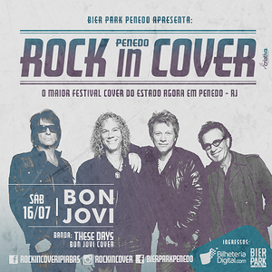 Escute entrevista do Tributo ao 'Bon Jovi' (These Days) na Rádio Real FM, no ótimo 'Na Pegada'