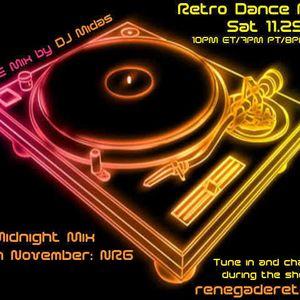 Retro Dance Party 11.29.2014 LIVE on Renegade Retro <renegaderetro.com>