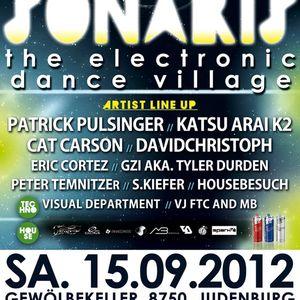 GZI-Live @ SONARIS with Patrick Pulsinger