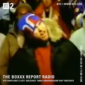 The Boxxx Report Show w/ pictureplane - 24th April 2018