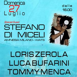 Tommy Menca @ Gufo Pool Party 27-07-14