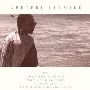 Love, Art and Beats Featuring Card Reader & Healer, Apetebi Iyamile 1/30/2017