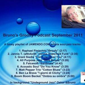 Bruno's Groovy Podcast September 2011