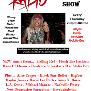 The ROXX Show at Hard Rock Hell Radio 29 March Star Mafia Boy Hardcore Superstar Danko Jones