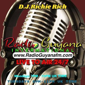 DJ Richie Rich Radio Guyana International Show 11/02/19 Valentines Special