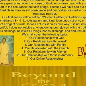 BWE Beyond the Veil with Evangelist Wanda McCoy - Christian Radio