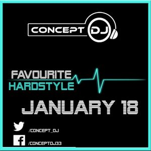Concept - Favourite Hardstyle January 18 (31-01-2018)