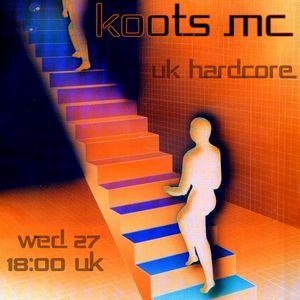 UK Hardcores_Koots Mc Live on Report2dancefloor radio