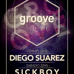 Groove@953radio : Diego Suarez [30-Mayo-2014]