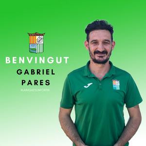 Gabi Pares, entrenador del primer equip del F.C.Sarrià
