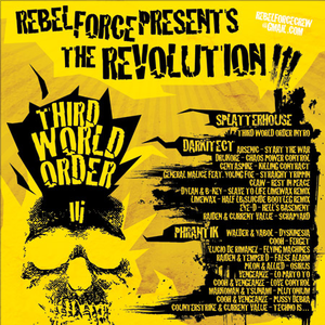 Rebel Force Presents The Revolution Volume III - 2009 Dark Drum & Bass mix