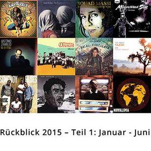 Jahresrückblick 2015 - Teil 1: Januar bis Juni