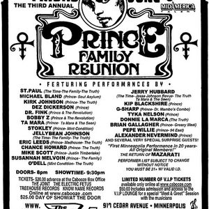 3rd Annual Prince Family Reunion - 06.05.2009 Live In Minneapolis