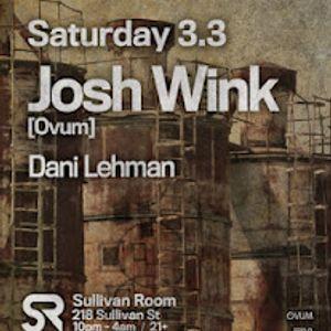 Josh Wink- Live at The Sullivan Room Part 3 (NYC)