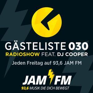 Gästeliste030 RadioShow feat. DJ COOPER 16.12.2016