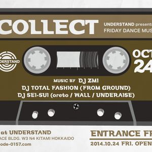 DJ TOTAL FASHION / 2014.10.24 at UNDERSTAND