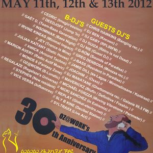 STaTiC HoUsE For Oz @ Work Birthday ( Mai 2012 - BMIX )