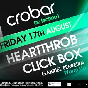 Unique Community pres. GABRIEL FERREIRA @ Crobar be Techno - Aug17th